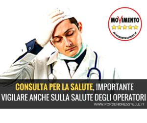 Read more about the article CONSULTA PER LA #SALUTE: IMPORTANTE VIGILARE ANCHE SULLA SALUTE DEGLI OPERATORI.