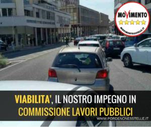 Read more about the article VIABILITA': IL NOSTRO IMPEGNO IN COMMISSIONE LAVORI PUBBLICI