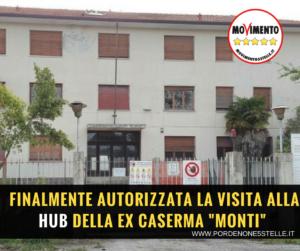 """Read more about the article FINALMENTE AUTORIZZATA LA VISITA ALLA HUB DELLA EX CASERMA """"MONTI"""""""