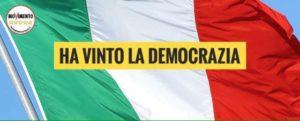 Read more about the article HA VINTO LA DEMOCRAZIA