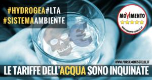 Read more about the article LE TARIFFE DELL'ACQUA SONO INQUINATE