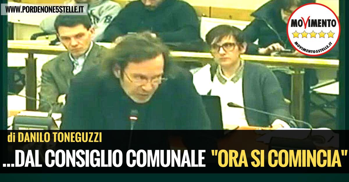 "You are currently viewing …DAL CONSIGLIO COMUNALE: ""ORA SI COMINCIA"""