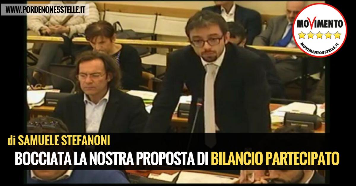 You are currently viewing L'AMMINISTRAZIONE BOCCIA LA NOSTRA PROPOSTA DI BILANCIO PARTECIPATO