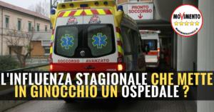 Read more about the article L'INFLUENZA STAGIONALE CHE METTE IN GINOCCHIO UN OSPEDALE?