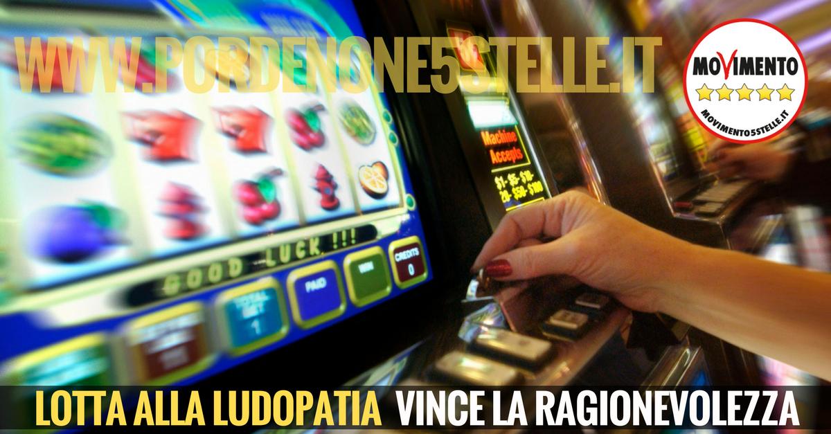 You are currently viewing LOTTA ALLA LUDOPATIA: VINCE LA RAGIONEVOLEZZA