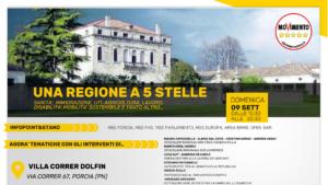 Read more about the article UNA REGIONE A 5 STELLE E CENA DI BENEFICENZA