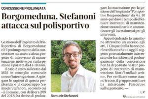 Read more about the article POLISPORTIVO BORGOMEDUNA, I CONTI NON TORNANO
