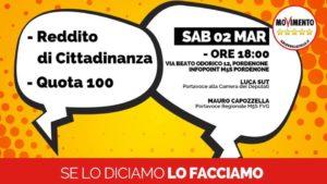 REDDITO DI CITTADINANZA E QUOTA 100 @ InfoPoint