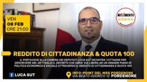 Read more about the article REDDITO DI CITTADINANZA E QUOTA 100