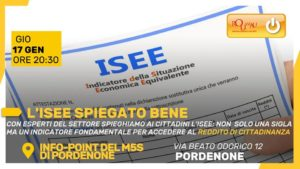 Read more about the article L' Isee spiegato bene – 17/01/2019 20:30