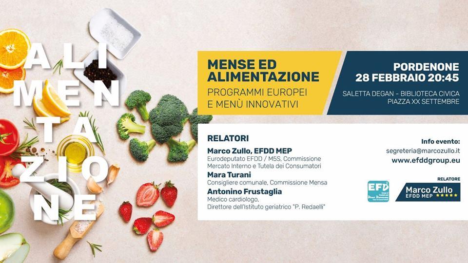 Mense ed alimentazione: programmi europei e menù innovativi