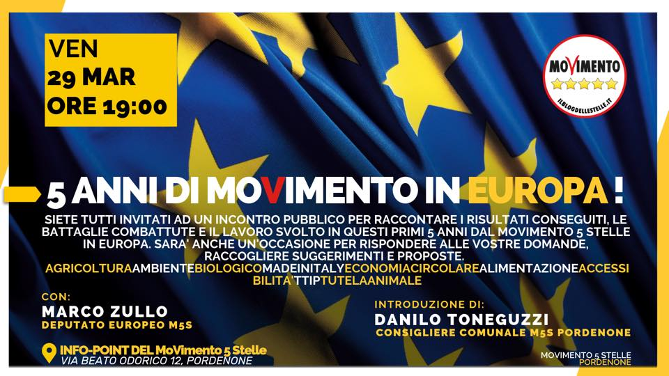 You are currently viewing 5 Anni di MoVimento in Europa!