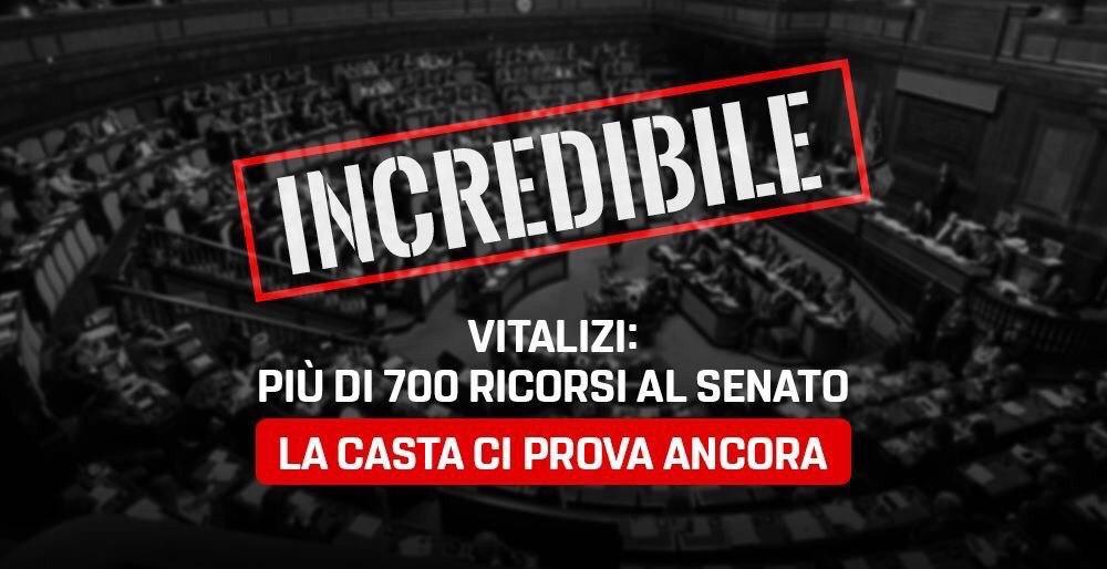 Read more about the article Il duro attacco di Luca Sut sulla questione dei ricorsi al senato per i vitalizi.