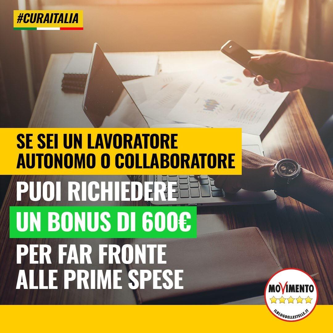 Read more about the article Il bonus di 600 euro andrà anche ai lavoratori iscritti a casse di previdenza private.