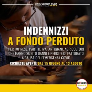 Read more about the article Indennizzi a fondo perduto