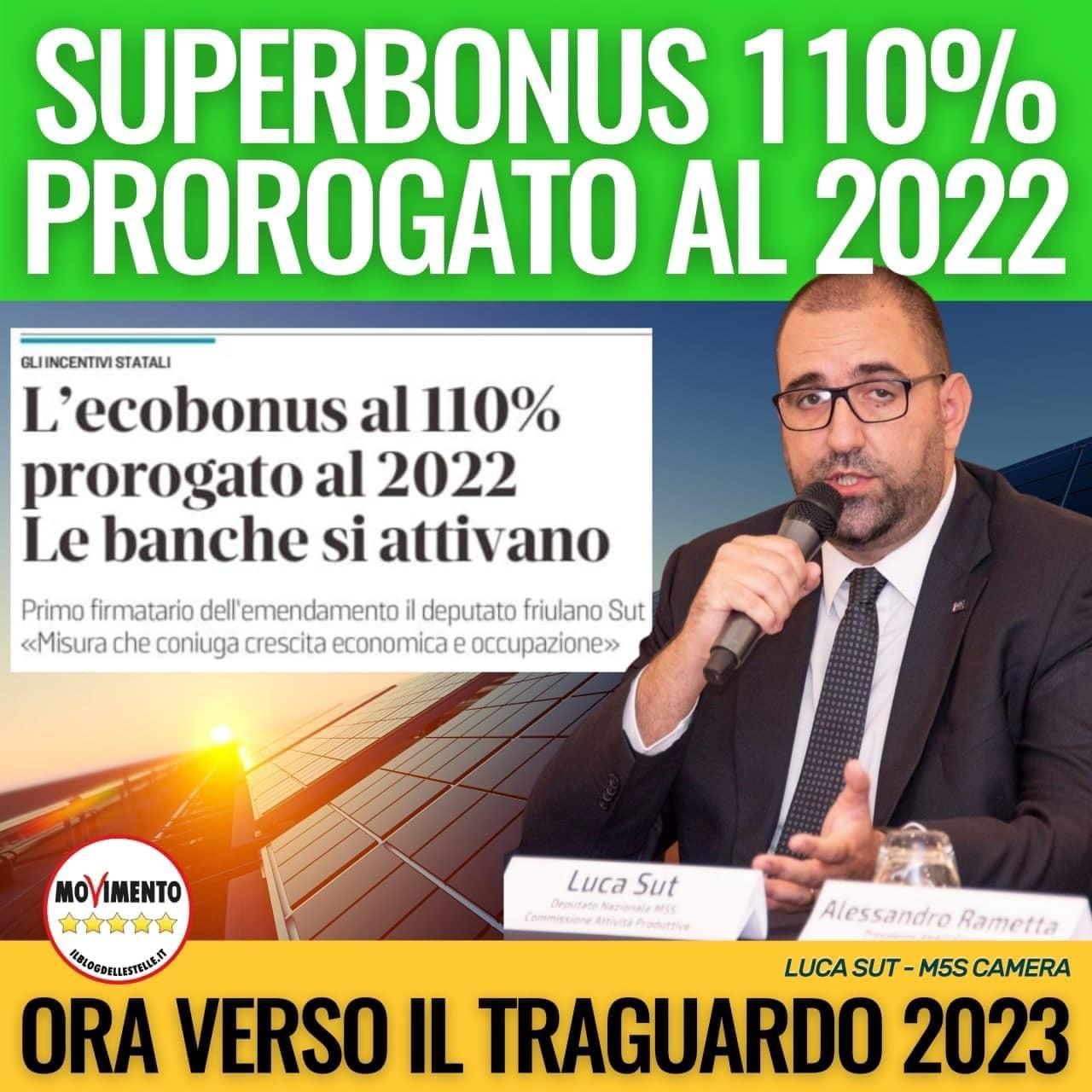 You are currently viewing 🔴#SUPERBONUS 110%: ECCO LE NOVITA' IN LEGGE DI BILANCIO