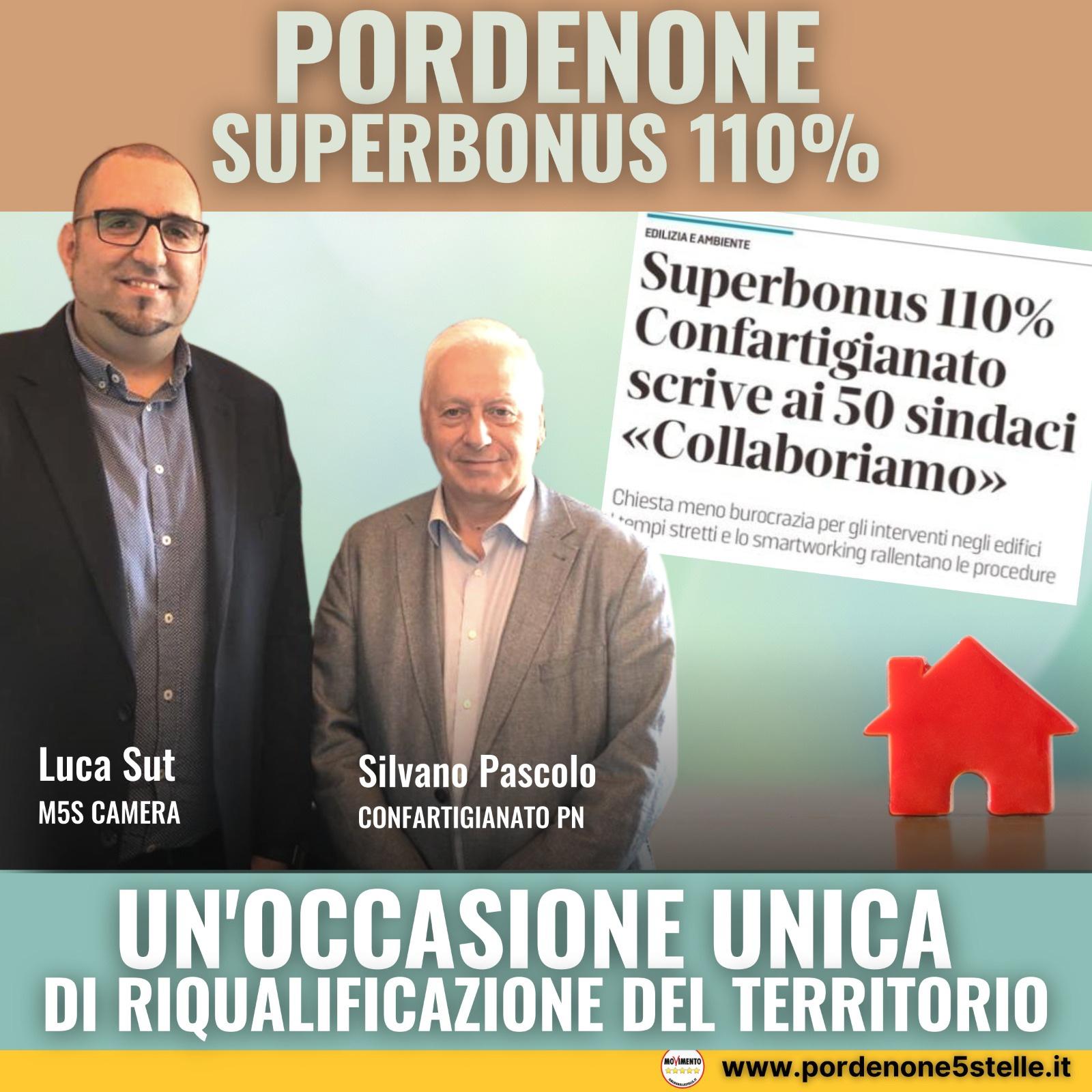 Read more about the article SUPERBONUS110, occasione unica per riqualificare Pordenone