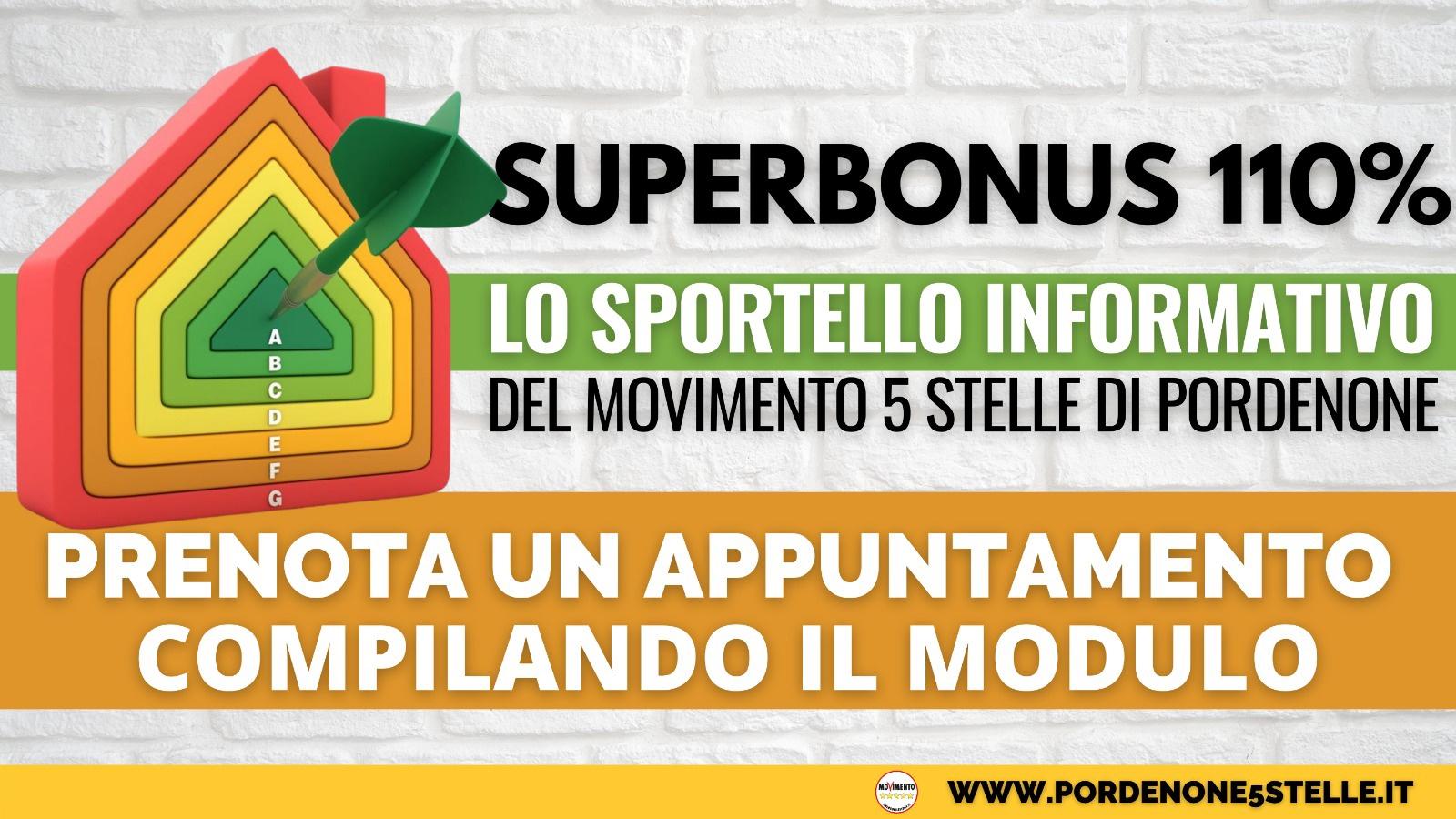 Read more about the article SUPERBONUS 110% – NASCE LO SPORTELLO INFORMATIVO DEL M5S