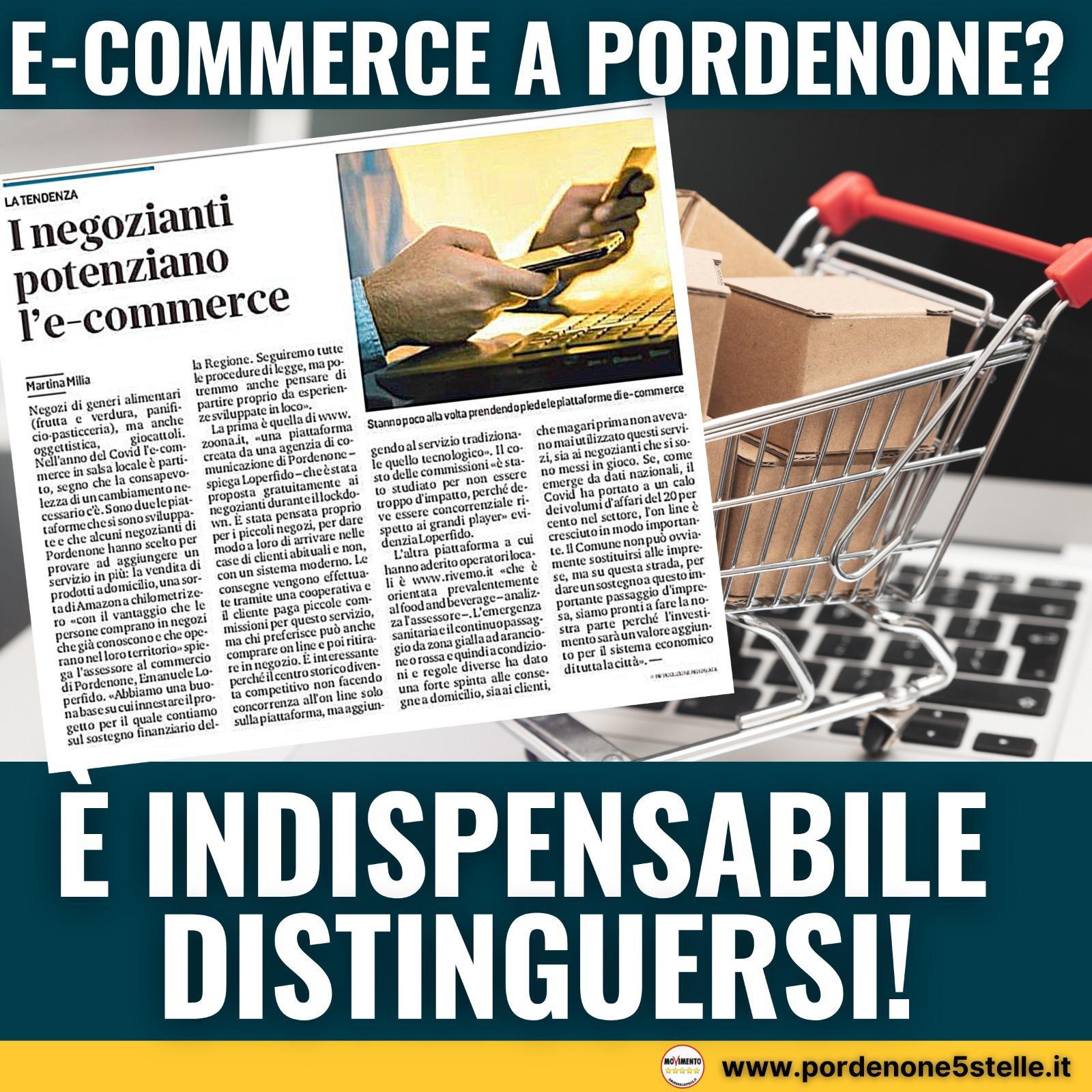 You are currently viewing IL COMMERCIO ELETTRONICO A PORDENONE