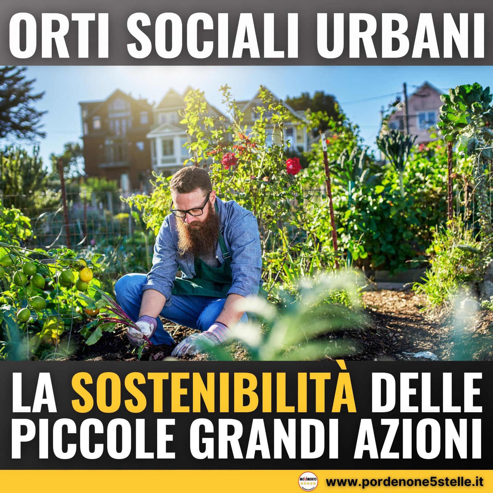 Read more about the article ORTI SOCIALI URBANI: LA SOSTENIBILITA' DELLE PICCOLE GRANDI AZIONI.