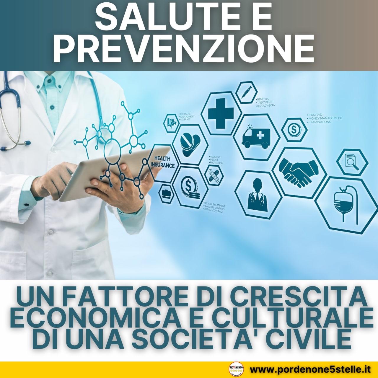 Read more about the article SALUTE E PREVENZIONE COME FATTORE DI CRESCITA ECONOMICA E CULTURALE DI UNA SOCIETA' CIVILE