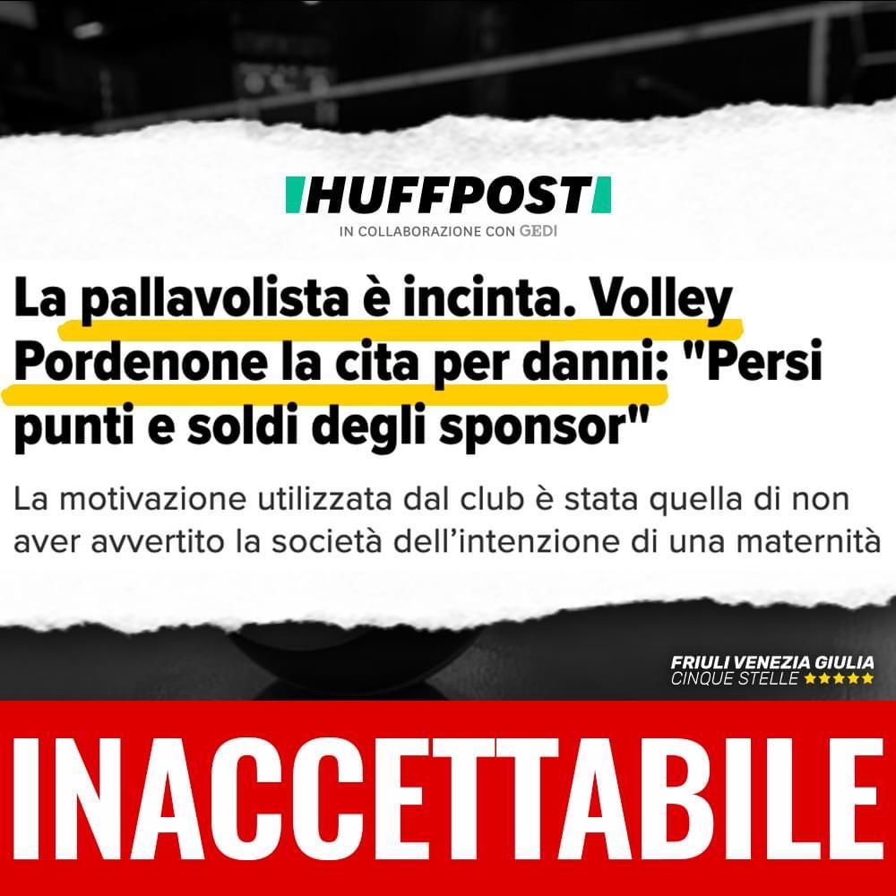 Read more about the article 🔴 Pallavolista incinta citata per danni, politica agisca anche contro questi casi