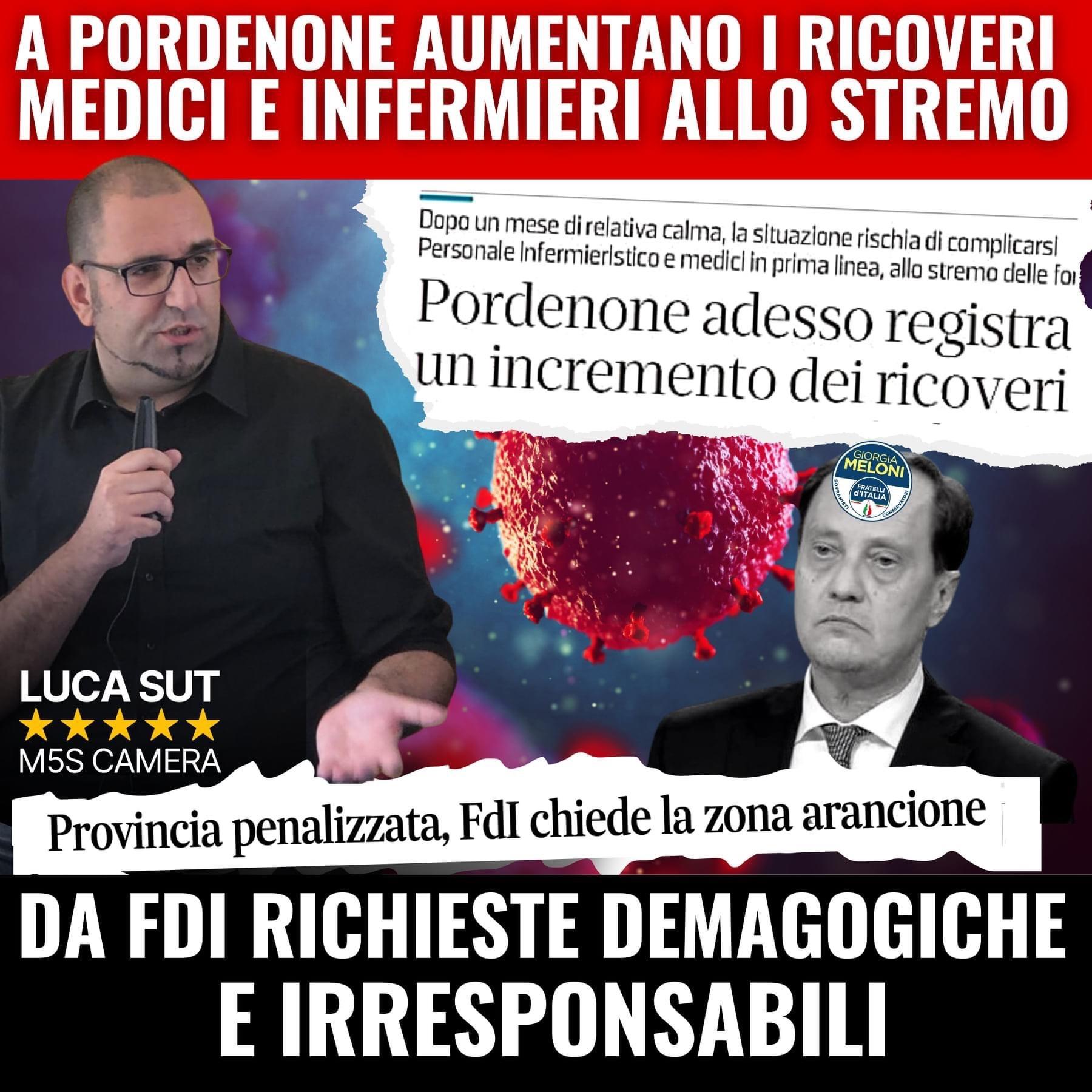 Read more about the article COVID, SULLE ZONE DI RISCHIO NON SI FACCIANO PASSI FALSI