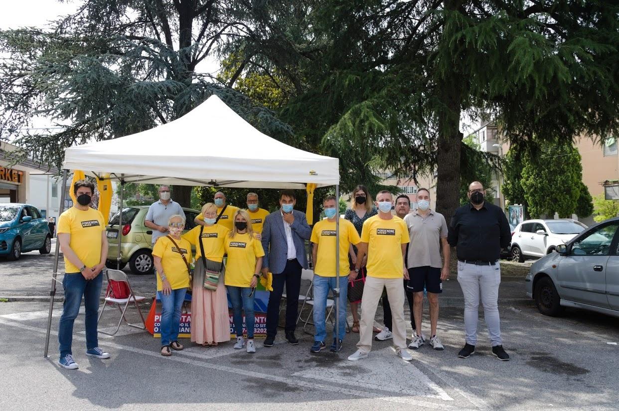 Read more about the article Il M5S ha iniziato la sua campagna elettorale dai quartieri.