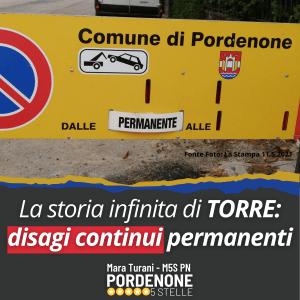 Read more about the article LA STORIA INFINITA DI TORRE : DISAGI CONTINUI PERMANENTI. (La Non Normalità divenuta stabile e normale).
