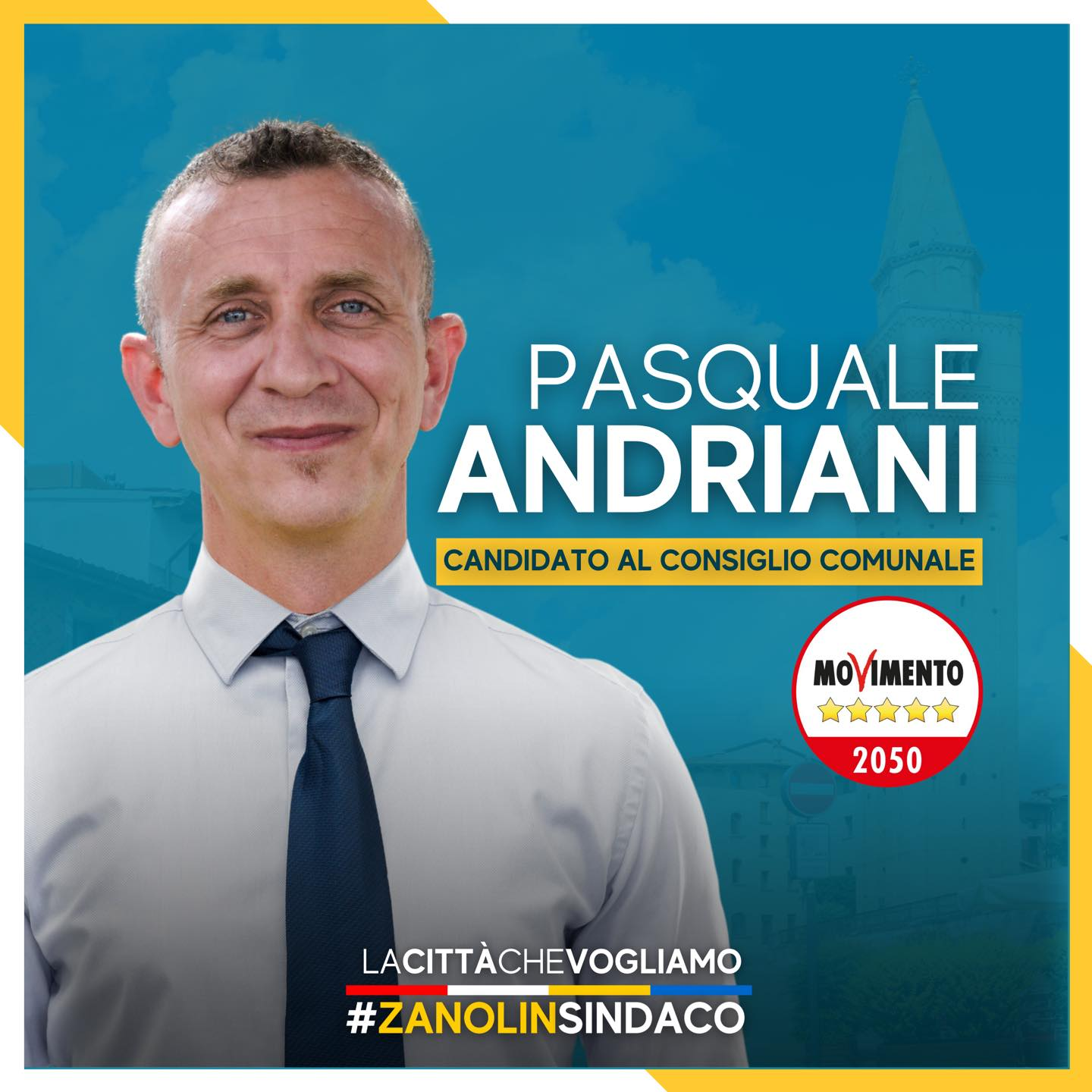 Read more about the article I nostri candidati 2021 – Pasquale Andriani
